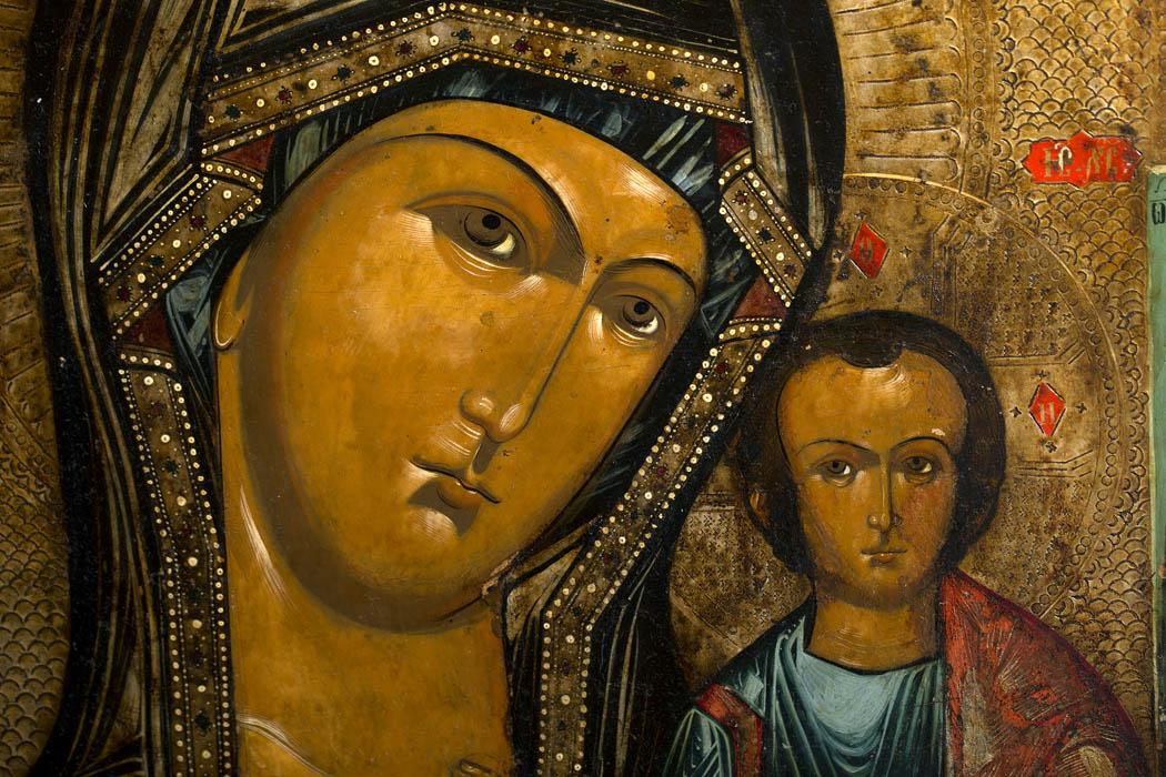 www.zenantique.com, Russian Icon KT 30  for sale