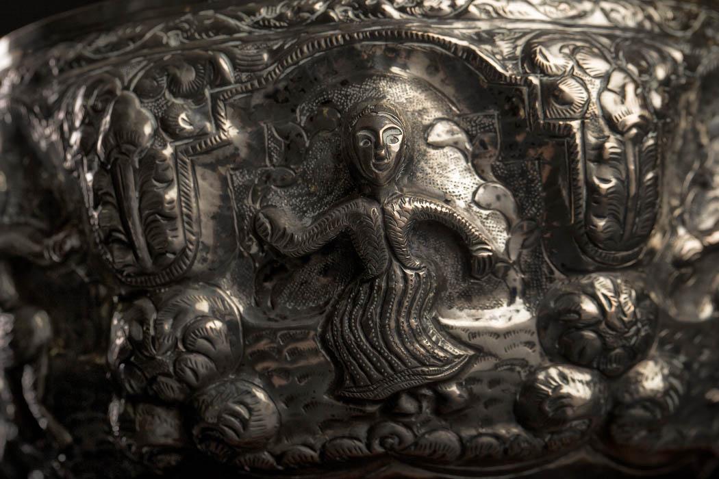 www.zenantique.com, antique buddha statues for sale  Sølvskål KT 32