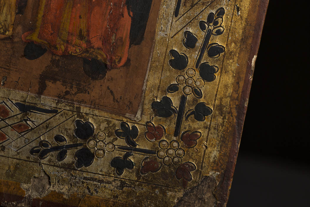 www.zenantique.com, Antique Russian Icon  KT 31 for sale